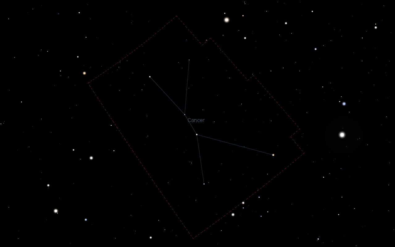 Constellation of Cancer
